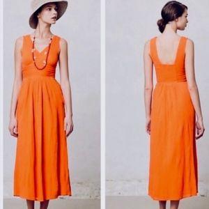Anthro Edme & Esyllte Maxi Midi Dress